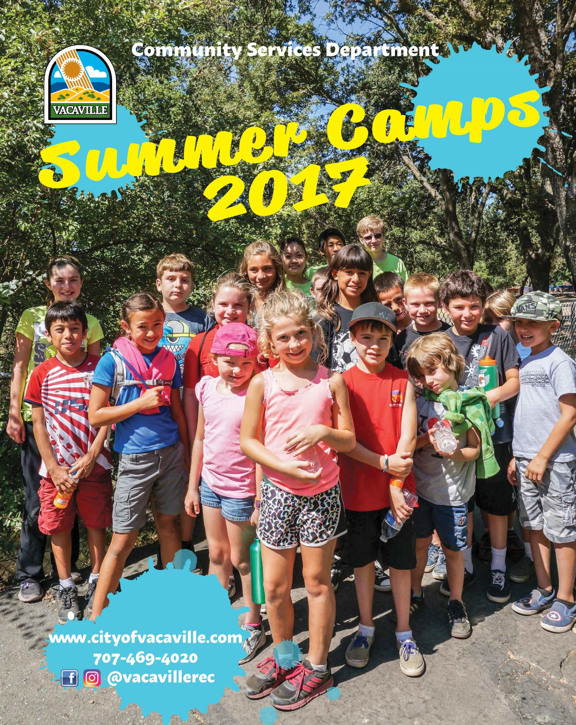 Front cover of the Summer Camps guide