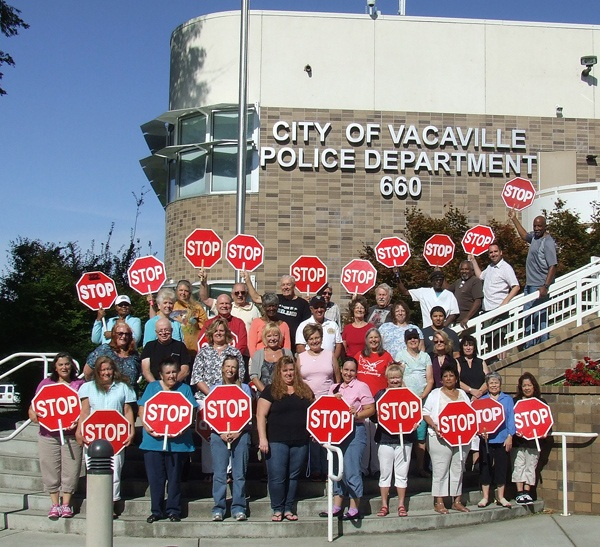 Photo of the 2014-2015 City of Vacaville Crossing Guards