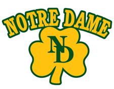 NotreDame school logo