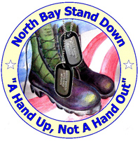 Logo for the North Bay Stand Down