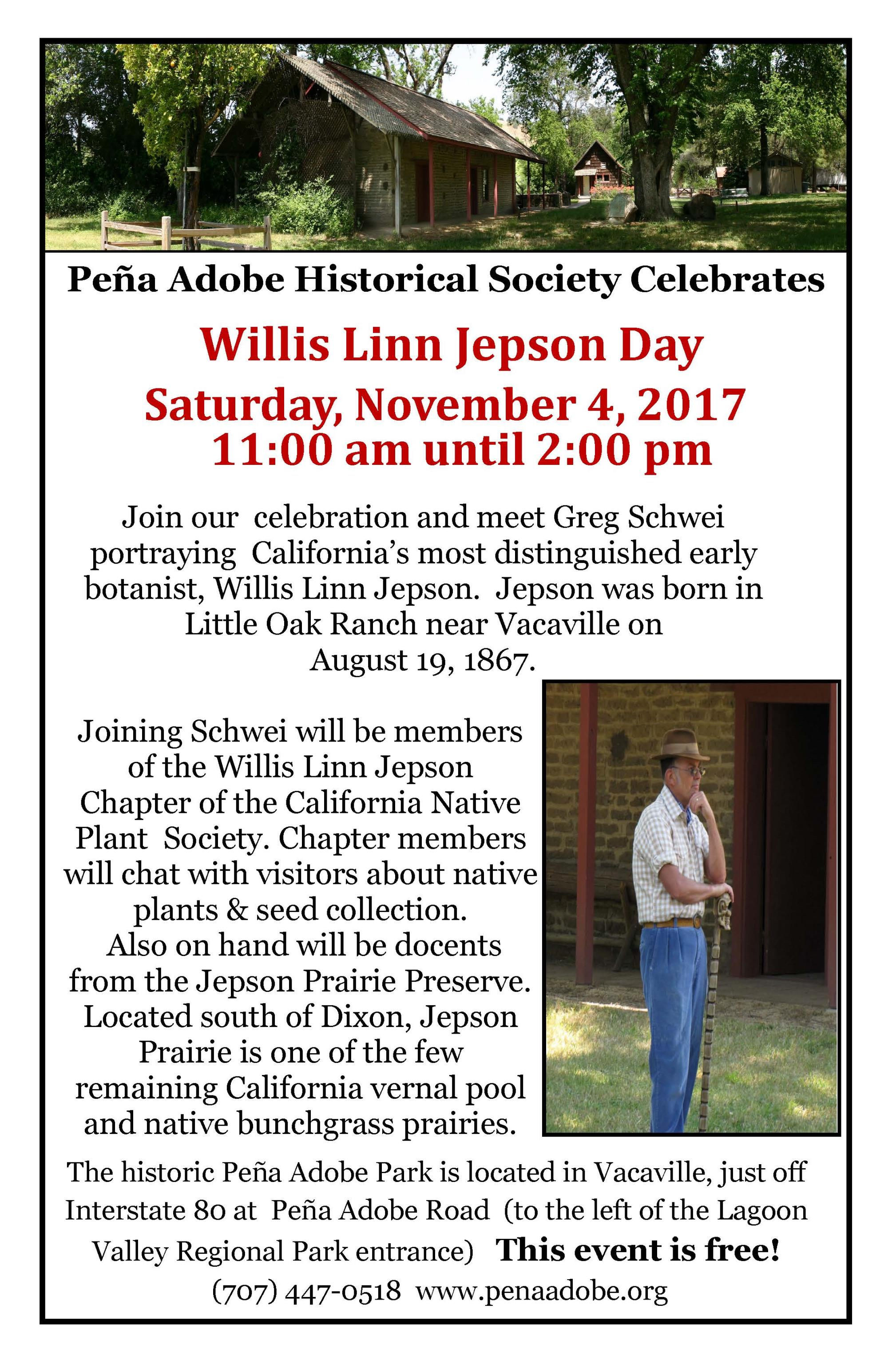 Peña Adobe Open House | Event List View | Vacaville, CA