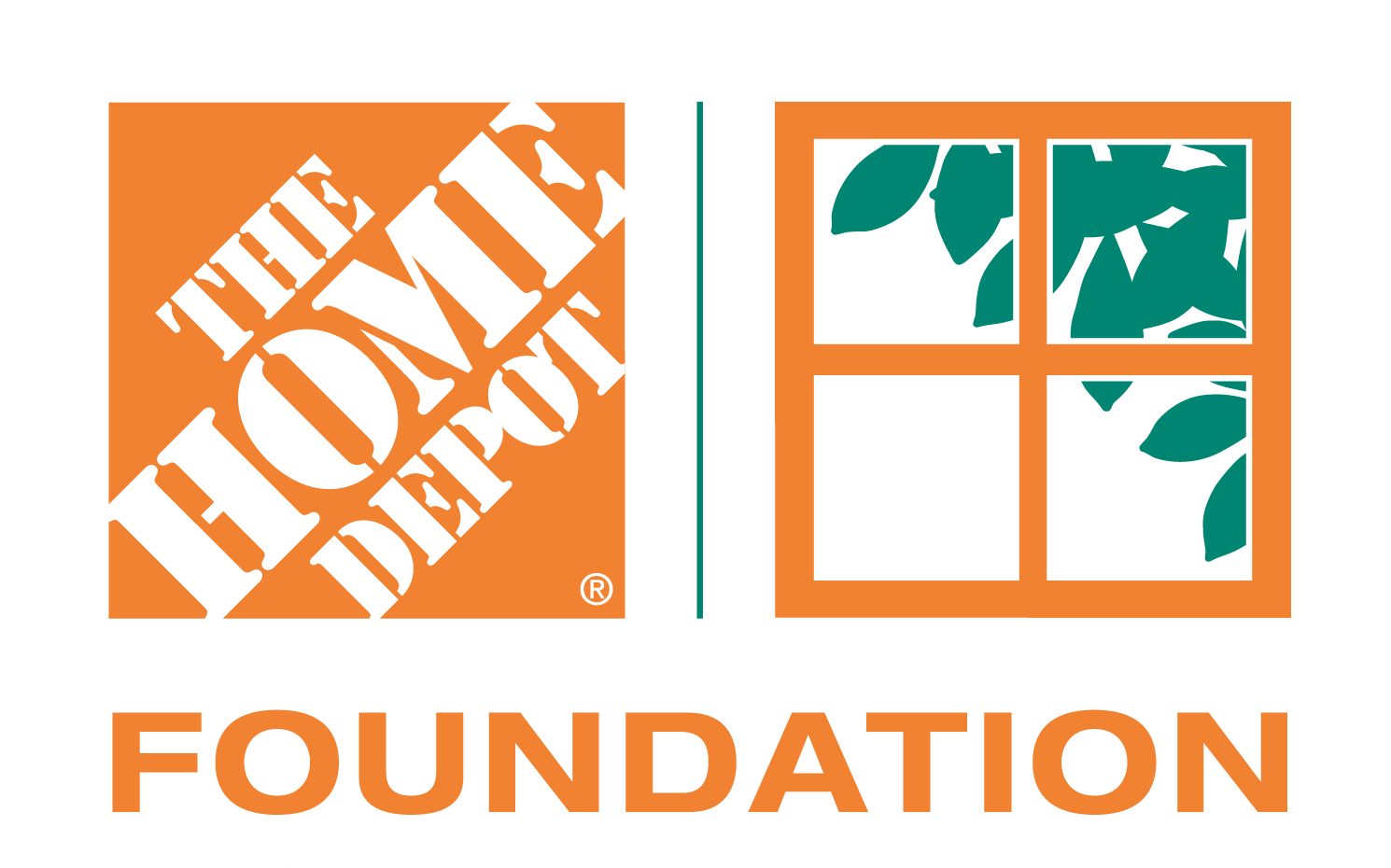logo for the home depot foundation