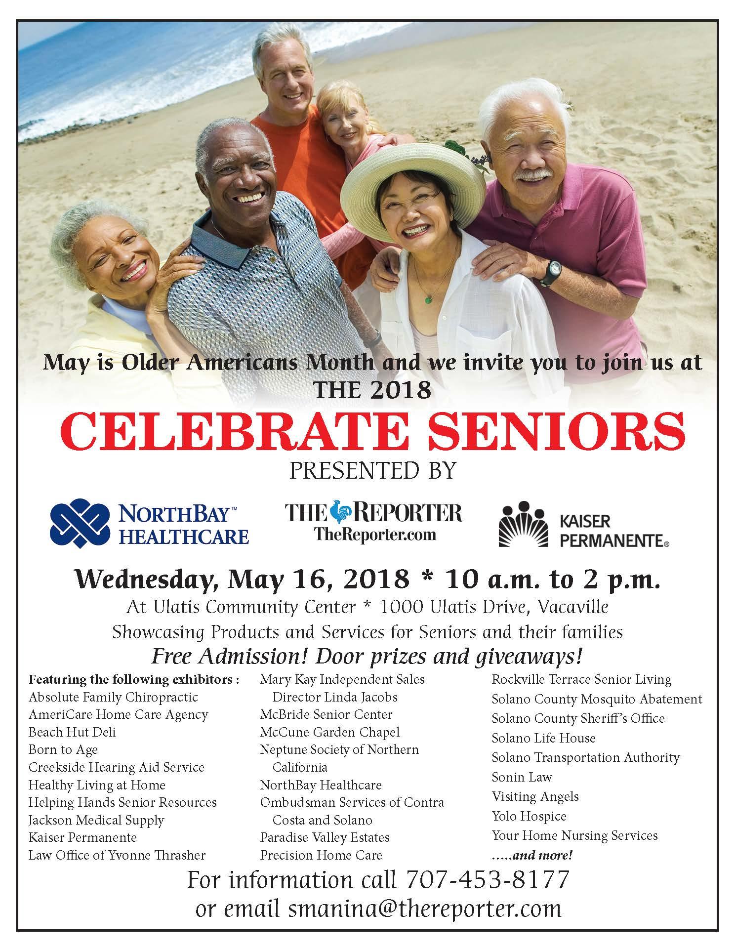 Celebrate Seniors 2018 | Event Calendar (All In One
