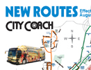 Small version of the New Routes flyer