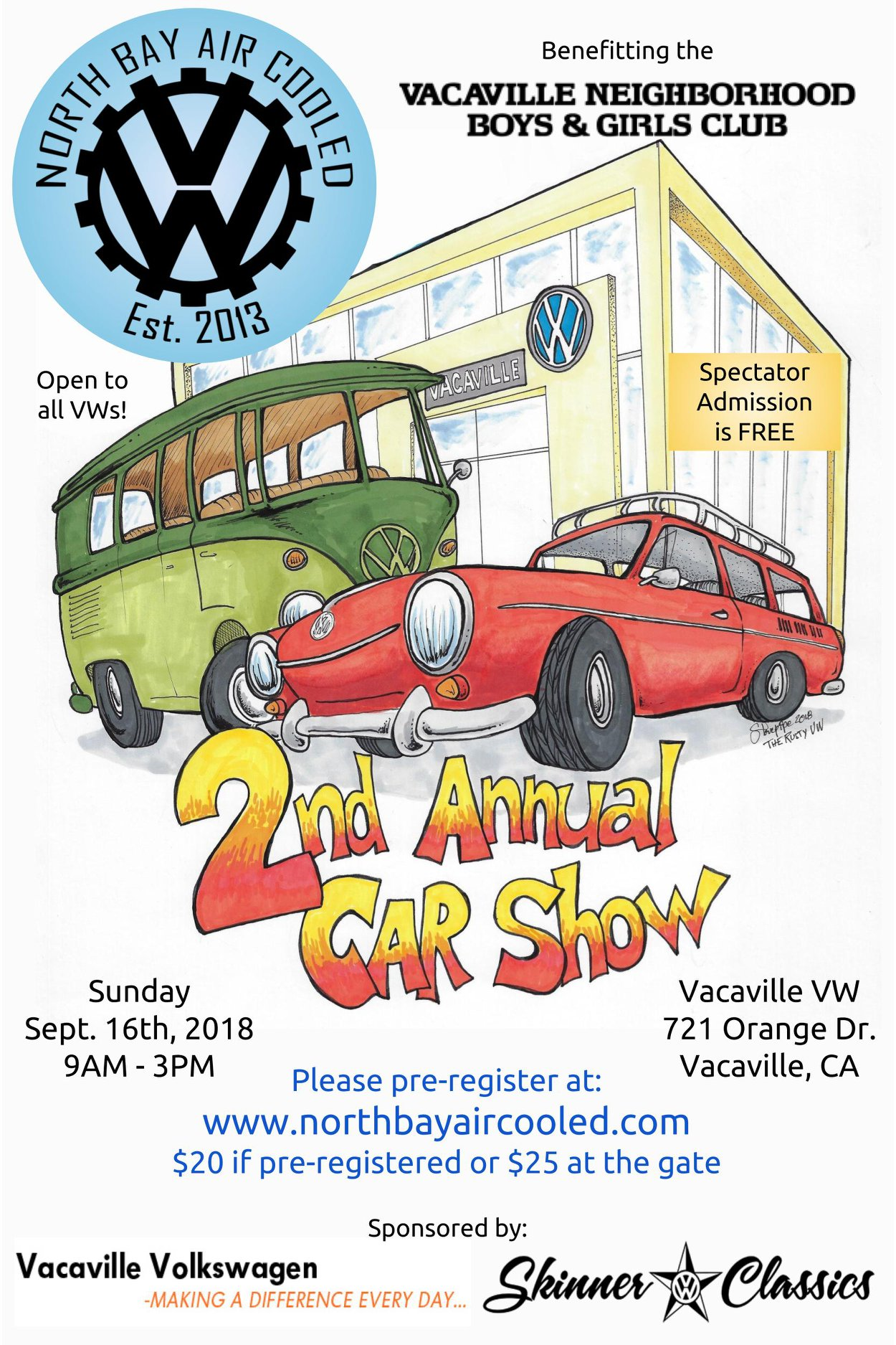 VW Car Show Event Calendar All In One Vacaville CA - Car show event calendar