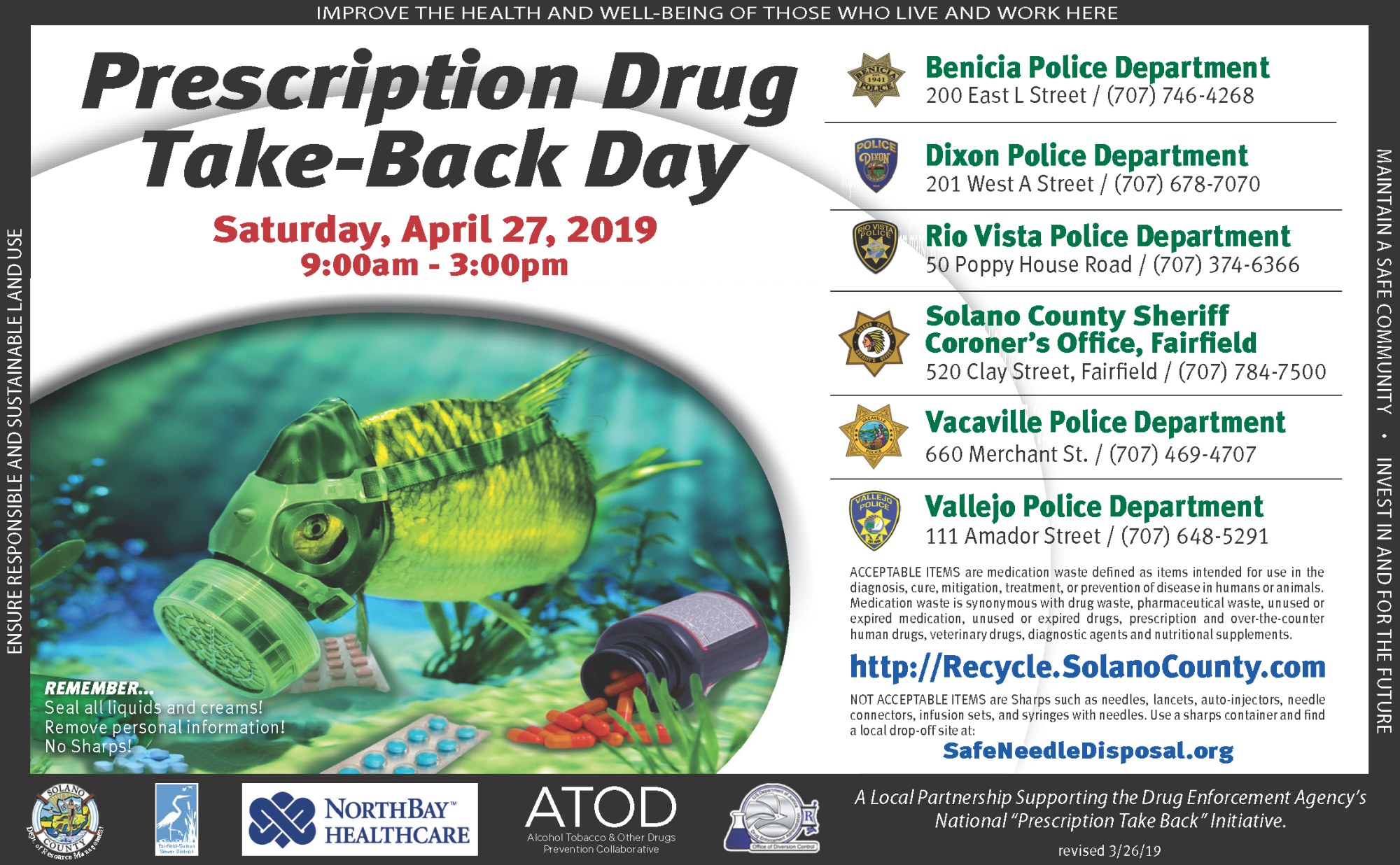 Apr 2019 Rx Take-Back Flyer Image