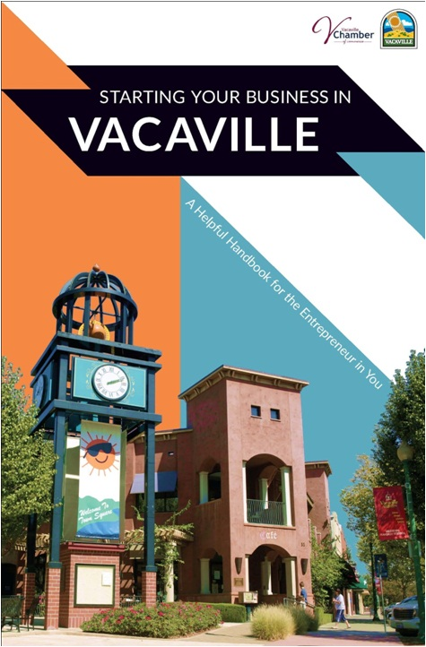 Cover of the Start Your Business in Vacaville brochure