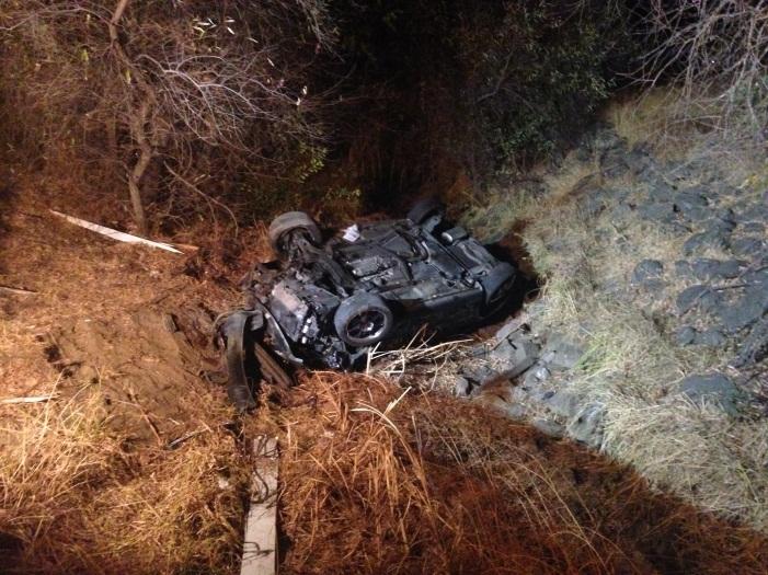 DUI arrest in solo vehicle crash | News | Vacaville, CA