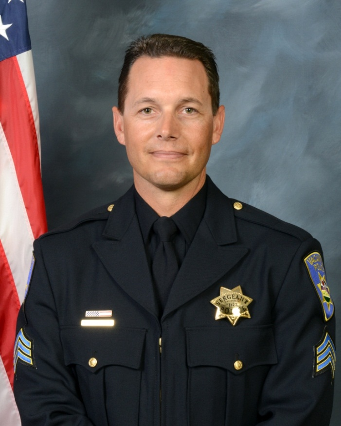 Photo of Lt. Chris Polen of the Vacaville PD