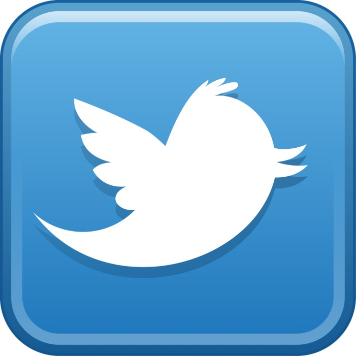 Logo of social media network Twitter