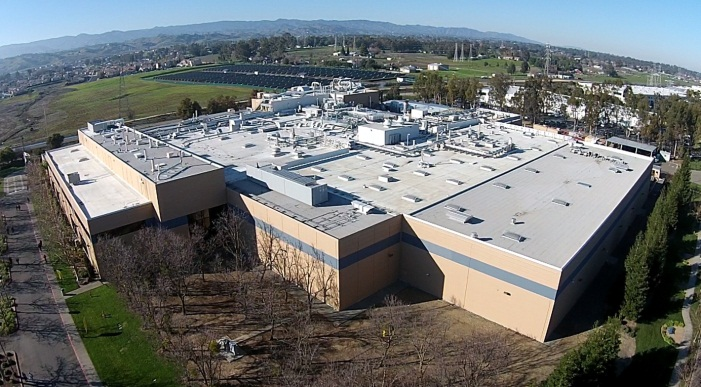 Image of the Janssen building in Vacaville