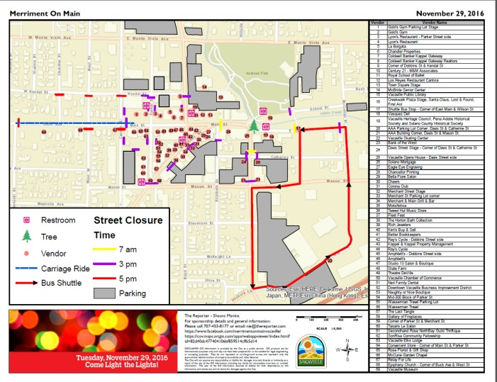 Map Of California Vacaville.Geographic Information System Gis Vacaville Ca