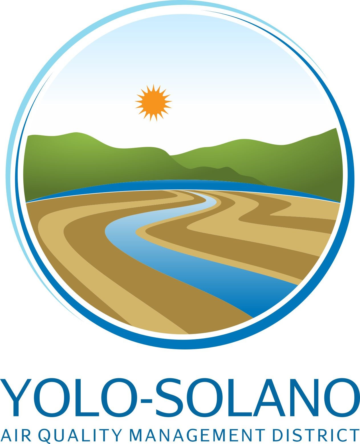 Yolo Solano Air Quality Management District logo