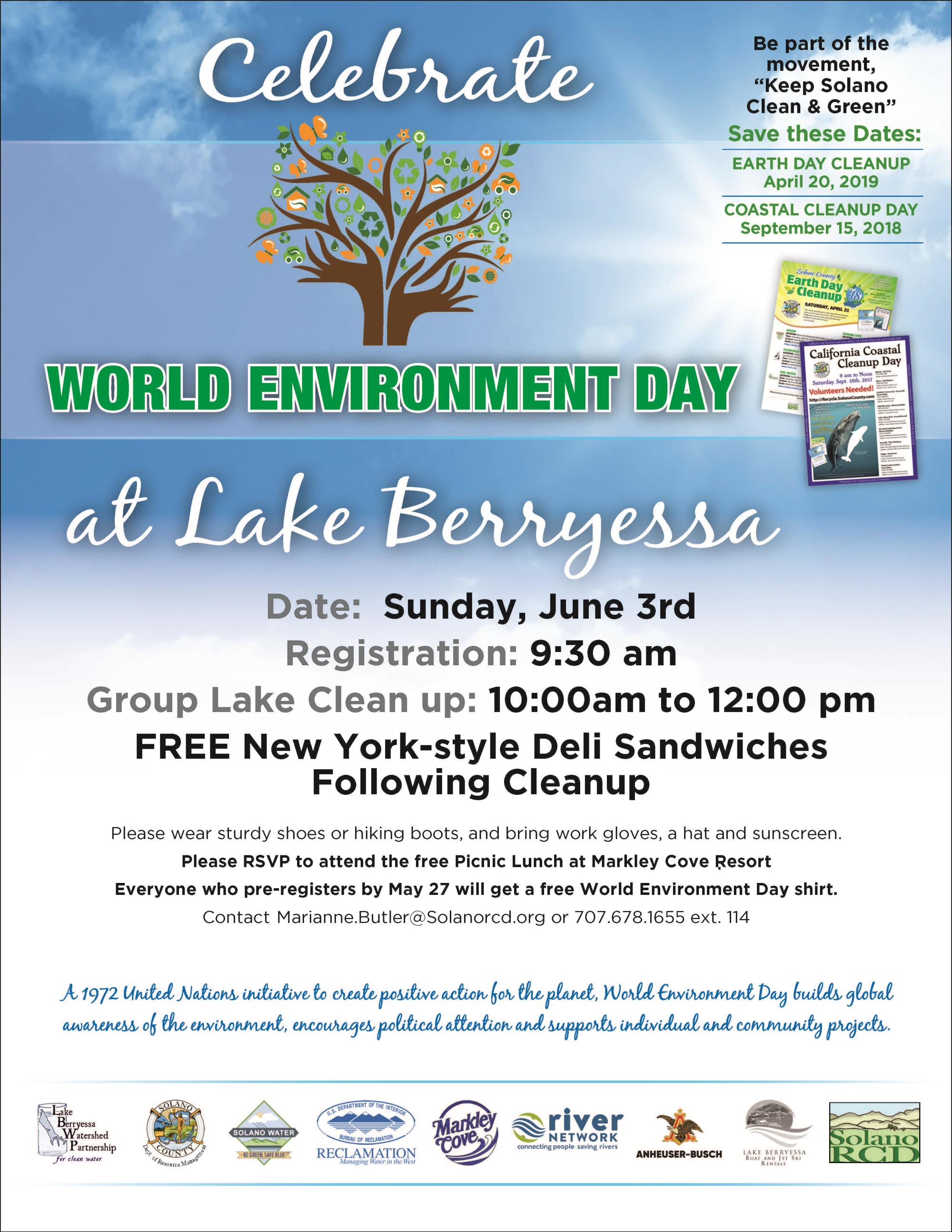 World Environment Day at Lake Berryessa | Event List View