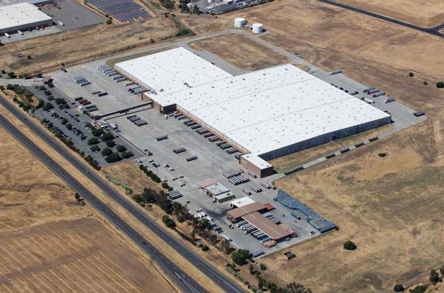 Aerial view of the North Bay Logistics Center in Vacaville